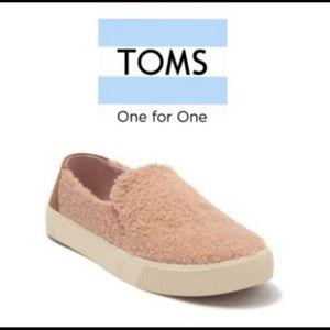 TOMs Sunset Faux Shearing Sneaker